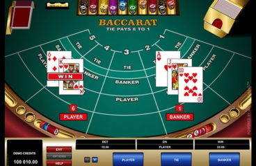 Baccarat online Australia, its rules and application of strategies